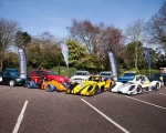 A selection of competing cars at the launch of the 2019 ANICC Millers Oils Northern Ireland hillclimb championship.(S3)