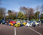 A selection of competing cars and their drivers at the launch of the 2019 ANICC Millers Oils Northern Ireland hillclimb championship.(S3)