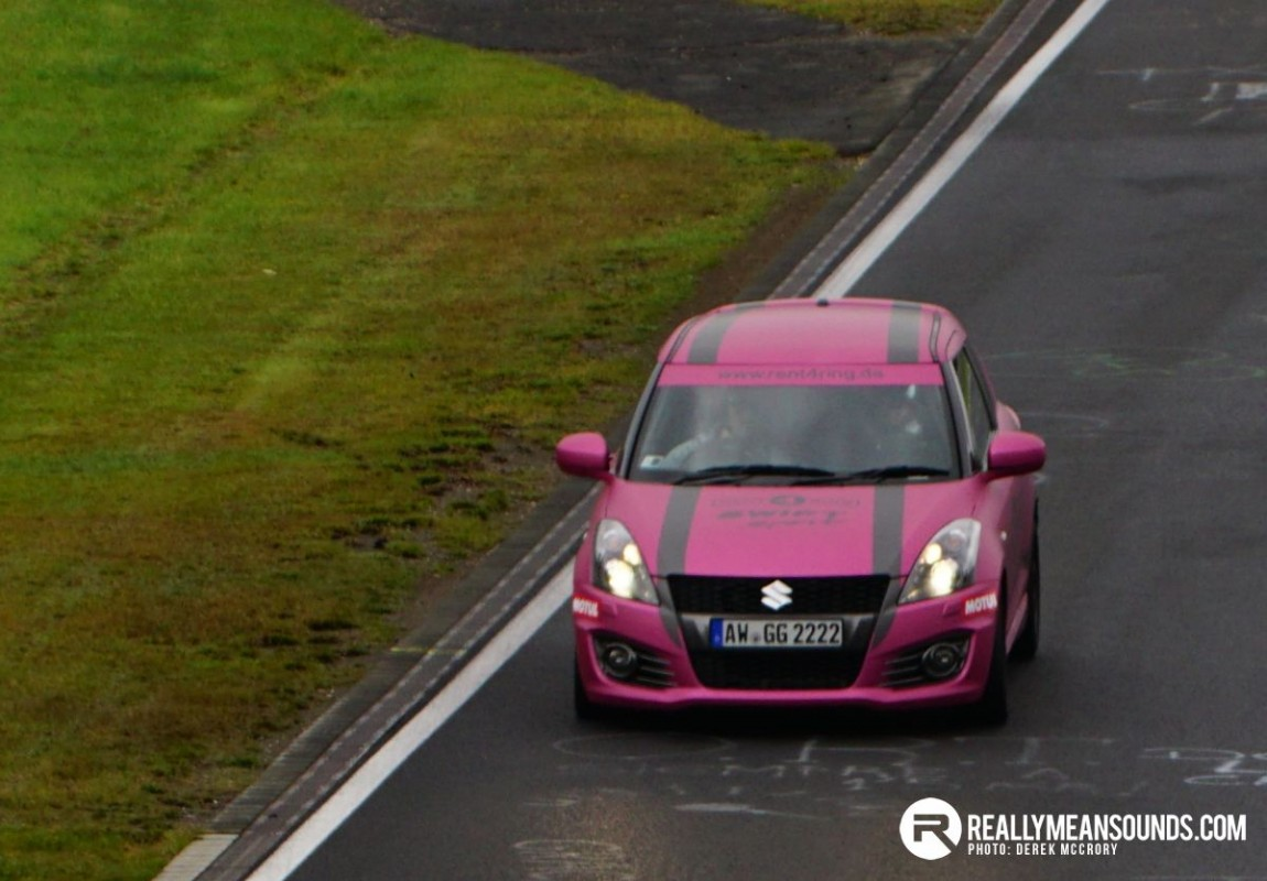 Rent4Ring Suzuki Swift - Nurburgring Guide