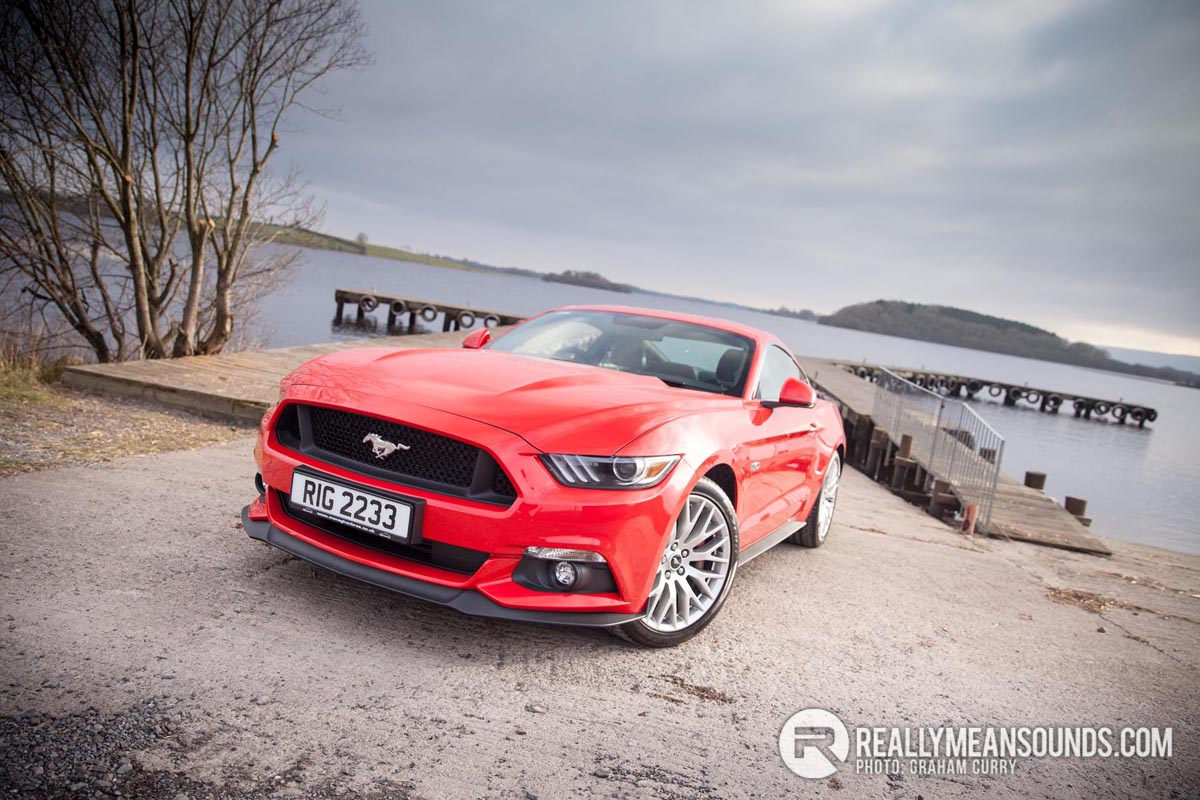 Front of the Ford Mustang. Image by Graham Curry.