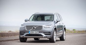 Front of Volvo XC90