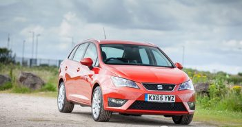 Front of Seat Ibiza FR