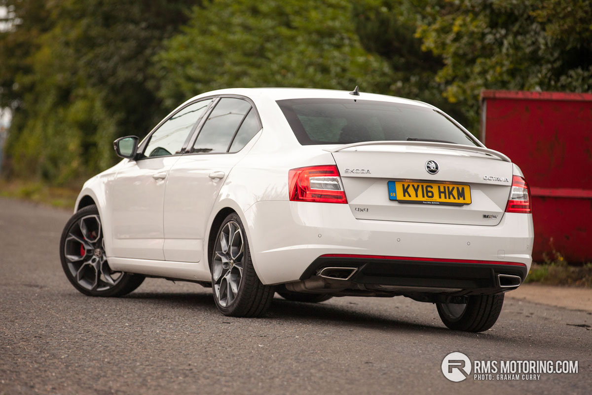 Rear of Skoda Octavia