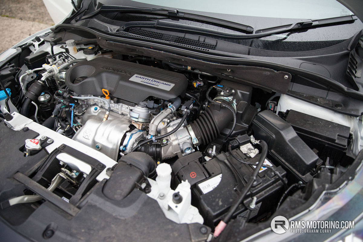 Honda HR-V Engine Bay