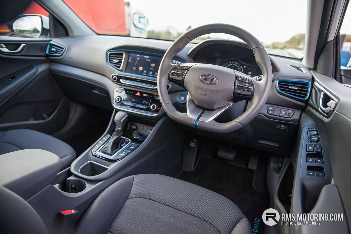 Front Seats of Hyundai Ioniq