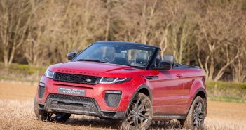 Front of Range Rover Evoque