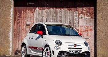 Front of Fiat Abarth 500