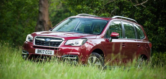 Front of Subaru Forester