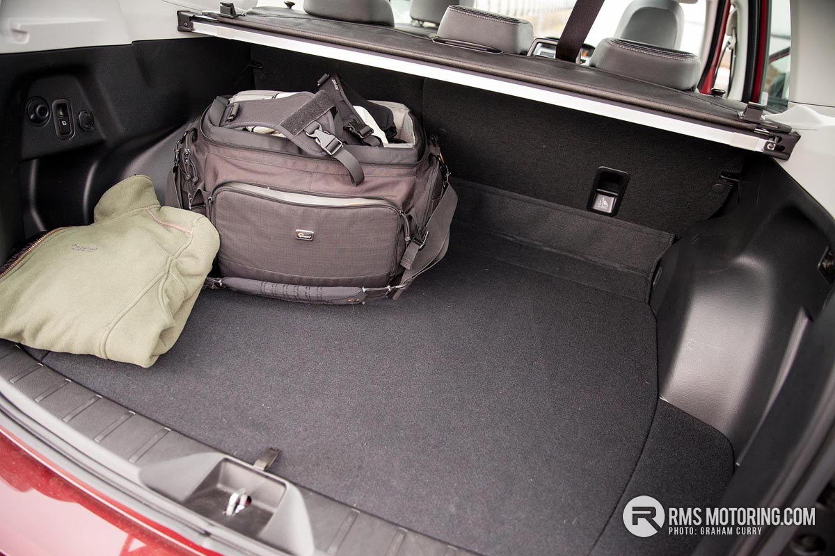 Boot of Subaru Forester