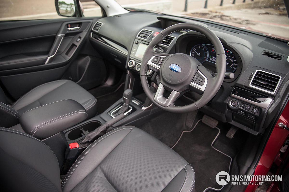 Subaru Forester front seats