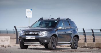 Front of Dacia Duster