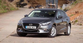 Front of Mazda 3