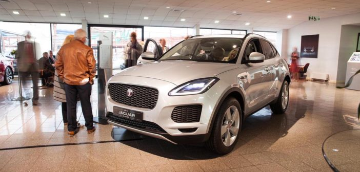 Front of Jaguar EPACE