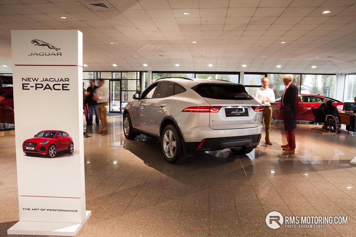Rear of Jaguar EPACE