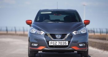 Front of Nissan Micra