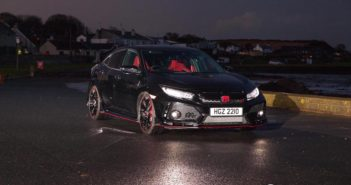 Front of Honda Civic Type R