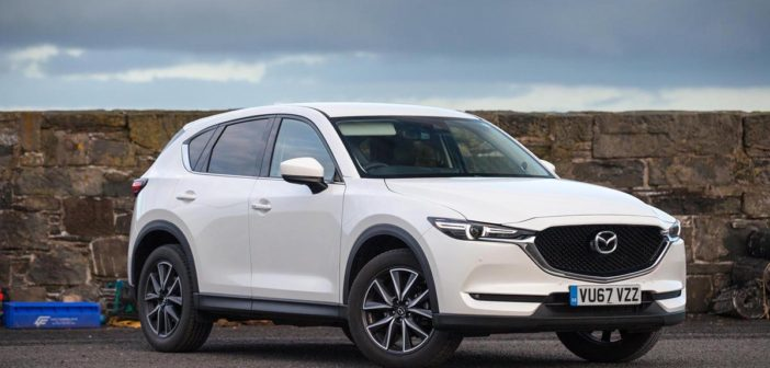 Front of Mazda CX-5