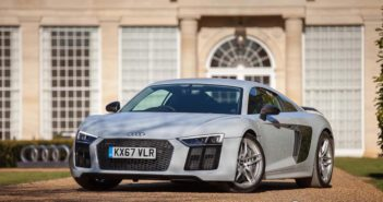 Front of Audi R8