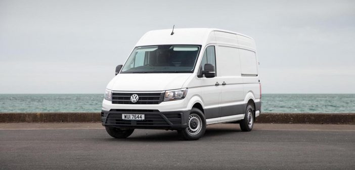 Front of VW Crafter