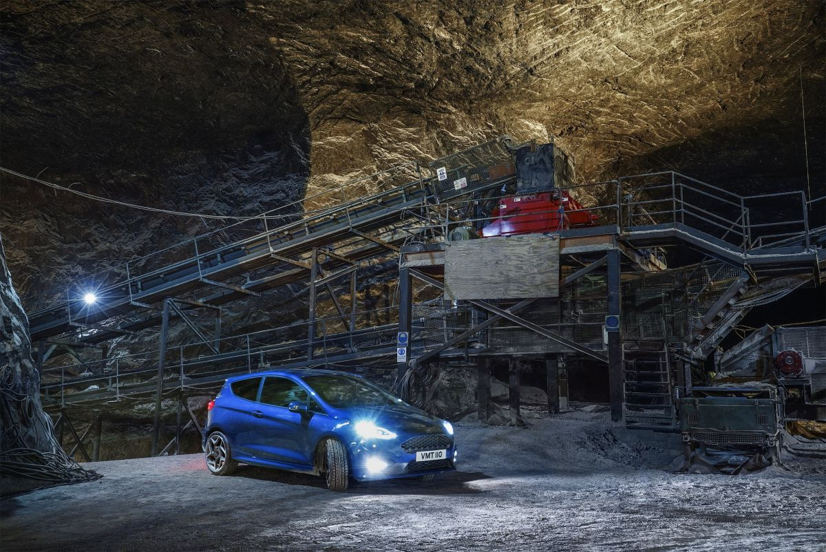 Ford Fiesta ST secret salt mine