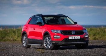 Front of Volkswagen T-Roc