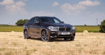 Front of BMW X4