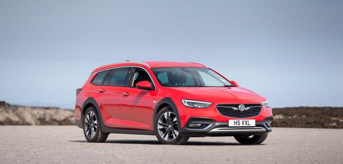 Front of Vauxhall Insignia