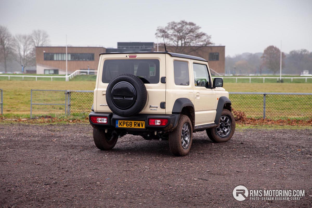 Rear of Suzuki Jimny