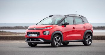 Front of Citroen C3 Aircross